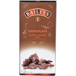 Tableta ciocolata cu lichior si caramel sarat 90g