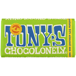 Ciocolata cu migdale si sare de mare 180g