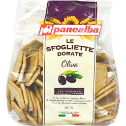 Crackers cu masline negre si verzi 180g