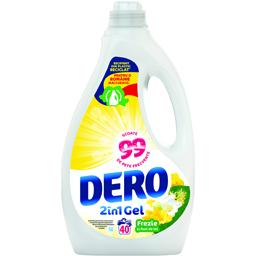 Detergent lichid 40 spalari cu parfum de Frezie si flori de tei 2l