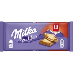 Ciocolata cu lapte alpin acoperita cu biscuiti 87g