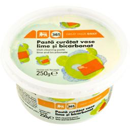 Pasta pentru curatat vase lamaie si bicarbonat 250g