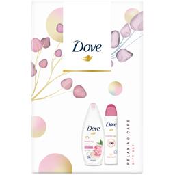 Set cadou Relaxing Care gel de dus si deodorant