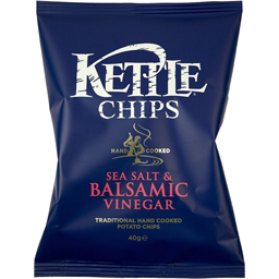 Chips cu sare de mare si otet balsamic 150g