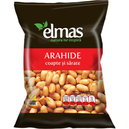 Arahide coapte si sarate  300g