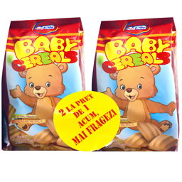 Biscuiti cu cereale, vitamine si minerale Baby 2x180g