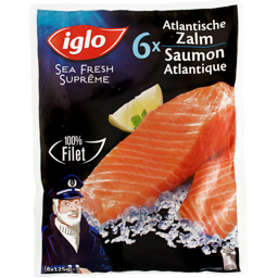 Somon de Atlantic 750g