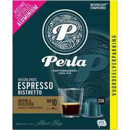 Cafea ristretto NO10 espresso 20 capsule 100g