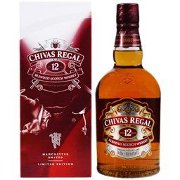 Blended Scotch Whisky cu cutie metalica 12 Years Old 0.7L