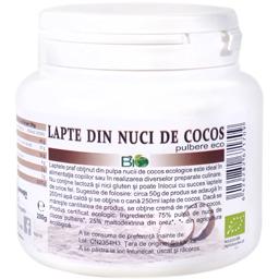 Lapte din nuci de cocos pulbere eco 200g