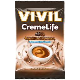 Bomboane fara zahar cu aroma de cafea Brasilitos 110g