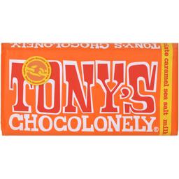 Ciocolata cu lapte si caramel sarat  180g