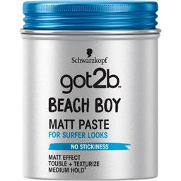 Pasta modelatoare pentru par Beach Boy cu efect de matifiere 100ml