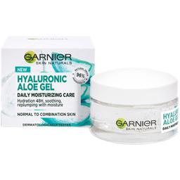 Gel hidratant cu Acid Hialuronic si Aloe Vera 50ml