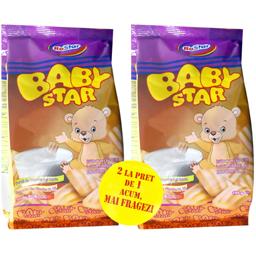 Biscuiti cu vitamine si minerale Baby 2x180g