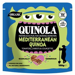 Quinoa bio Mediteraneana 190g