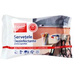 Servetele dezinfectante pentru suprafete, 20 bucati