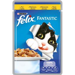 Hrana umeda pentru pisici cu pui in aspic 100g