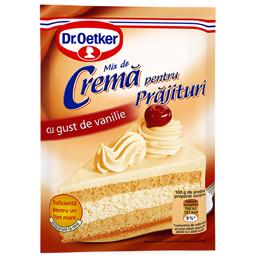 Crema pentru prajituri cu gust de vanilie 50g