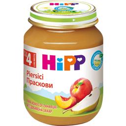 Preparat ecologic din fructe cu piersici si pere 125g