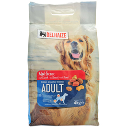Hrana uscata pentru caini, cu vita 4kg