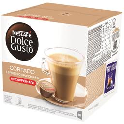 Cafea decofeinizata Cortado Espresso Macchiato, 16 capsule 99.2g