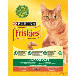 Hrana uscata pentru pisici Adult Indoor cu pui si legume 300g