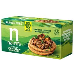 Crackers din ovaz integral fara gluten 160g