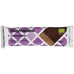 Napolitana bio invelita in ciocolata 40g