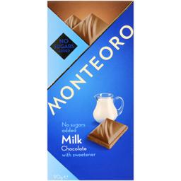 Ciocolata cu lapte cu indulcitor 90g