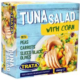 Salata de ton cu porumb 160g