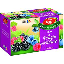 Ceai cu fructe de padure 20x2g