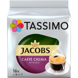 Cafea Caffee Crema Intenso, 16 capsule