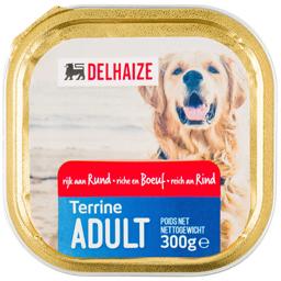 Terina cu carne de vita pentru caini adulti 300g