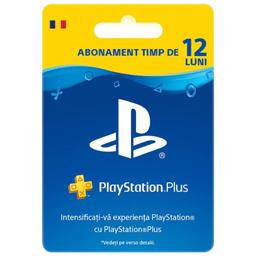 Card PlayStation Plus RO abonament pentru 365 zile