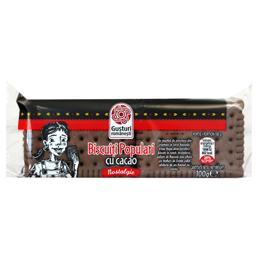 Biscuiti populari cu cacao 100g
