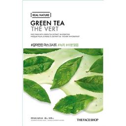 Masca de fata cu ceai verde Real Nature 20g