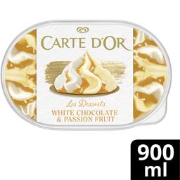 Inghetata Ciocolata alba si Fructul pasiunii  507g