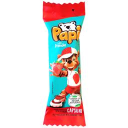 Baton de ciocolata cu lapte si crema de capsuni 27.5g
