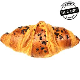 Croissant cu cacao si alune 86g