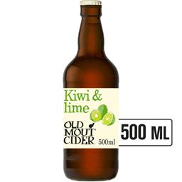Cidru cu suc de kiwi si lime 0.5L
