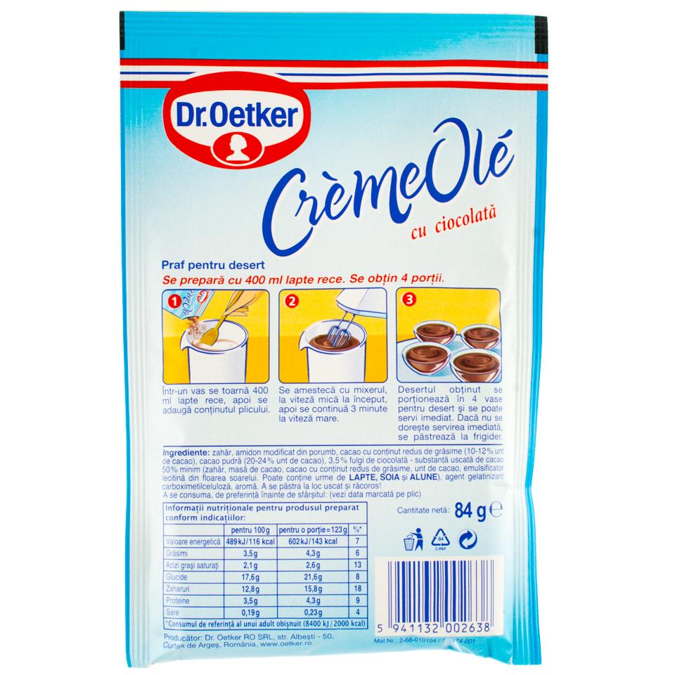 Dr. Oetker-Creme Ole