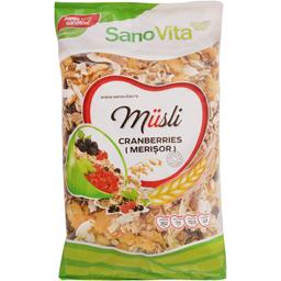 Fulgi de cereale Musli cu merisoare 400g