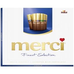 Specialitati de ciocolata cu lapte asortata 250g