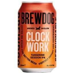 Bere artizanala ClockWork Tangerine IPA 330ml