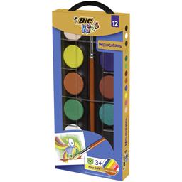Acuarele 12 culori