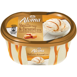 Inghetata cu vanilie si sirop de caramel 505g