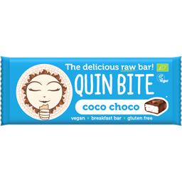 Baton bio raw vegan cu ciocolata si cocos 30g