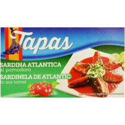 Sardine de Atlantic in sos tomat 88g