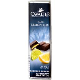 Baton de ciocolata cu lamaie si lime, fara zahar 40g